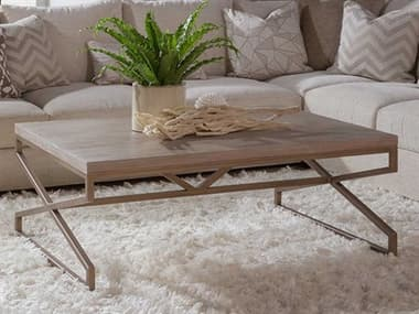 Artistica Home Edict Bianco 48''W Rectangular Cocktail Table ATS208894540