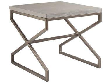 Artistica Home Edict Bianco 26'' Wide Square End Table ATS208895740