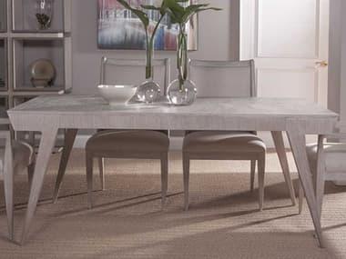 Artistica Home Haiku Bianco 72''-96''W Rectangular Extension Dining Table ATS205787740