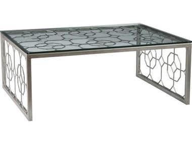 Artistica Home Honeycomb 50''L x 34''W Rectangular Cocktail Table ATS2056945
