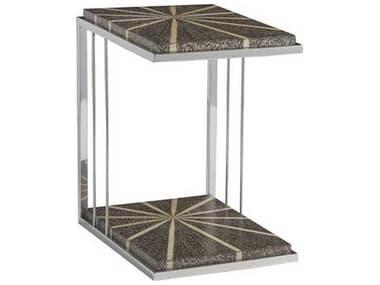Artistica Isabella Black 19'' Wide Rectangular End Table ATS2127951