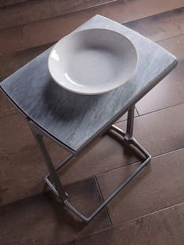 Artistica Leo Gray 12'' Wide End Table ATS2067951