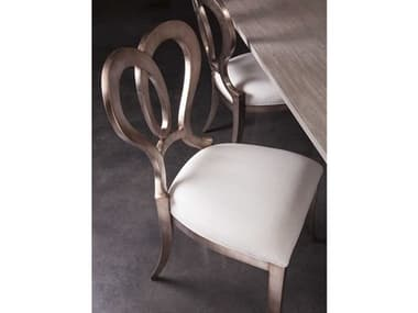 Artistica Home Melody Warm Silver Dining Side Chair ATS208788001
