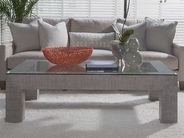 Artistica Home Precept Light Gray 60''L x 38''W Rectangular Cocktail Table ATS2077945C