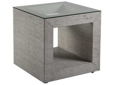 Artistica Home Precept Light Gray 25'' Wide Square End Table ATS2077957C