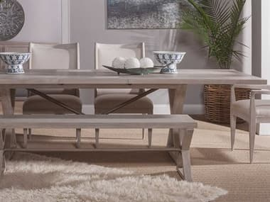 Artistica Home Ringo Bianco 88''-110''L x 44''W Rectangular Extension Dining Table ATS200387740