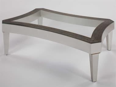 Artmax Silverleaf / Champagne 55'' Wide Rectangular Coffee Table AMXX1020CF