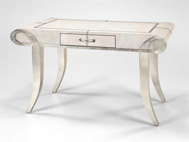 Artmax Eggshell / Almond / Silverleaf Secretary Desk AMX4489WT