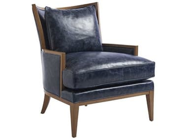 Barclay Butera Atwood 9014-31 Leather Accent Chair BCB534011LL