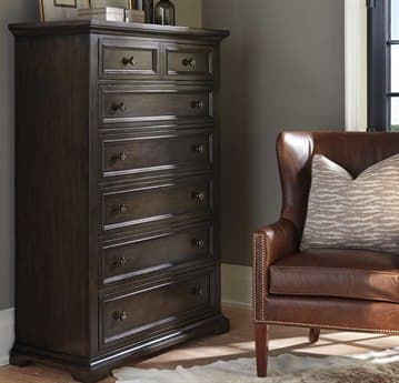 Barclay Butera Brentwood Bradford Wilshire Seven-Drawer Chest of Drawers BCB915307