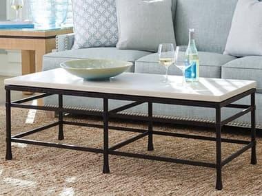 Barclay Butera Newport Breakwater Sandstone 52'' x 22'' Rectangular Cocktail Table BCB920945