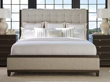 Barclay Butera Brentwood Bristol Tufted Wilshire California King Platform Bed (Custom Upholstery) BCB915135CUPH