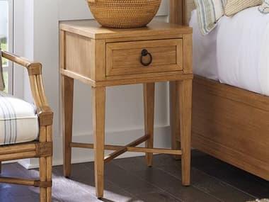 Barclay Butera Newport Clay Sandstone One-Drawer 20'' x 18'' Night Table BCB920622