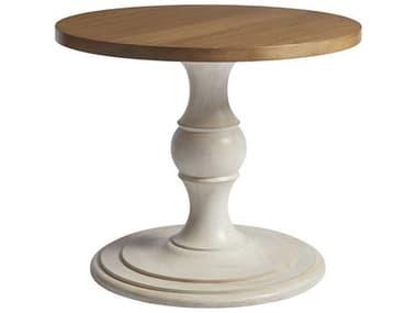 Barclay Butera Corona Del Mar Sandstone / Sailcloth 36'' Wide Round Foyer Table BCB010924924C
