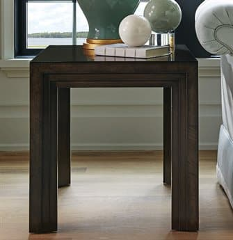 Barclay Butera Brentwood Essex Wilshire 28'' x 24'' Rectangular Lamp End Table BCB915959