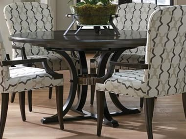 Barclay Butera Brentwood Layton Wilshire / Onyx 60'' Wide Round Pedestal Dining Table BCB915875C