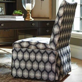 Barclay Butera Mackenzie Skirted 6411-71 Dining Side Chair (As Shown) BCB53851240