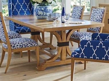 Barclay Butera Newport Oceanfront Sandstone 88'' x 44'' Rectangular Dining Table BCB920877