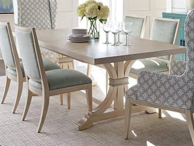 Barclay Butera Newport Oceanfront Sailcloth 88'' x 44'' Rectangular Dining Table BCB921877