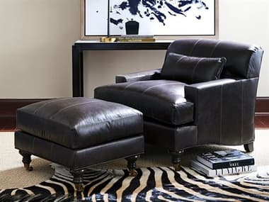 Barclay Butera Oxford Chair and Ottoman Set BCB516011LLSET