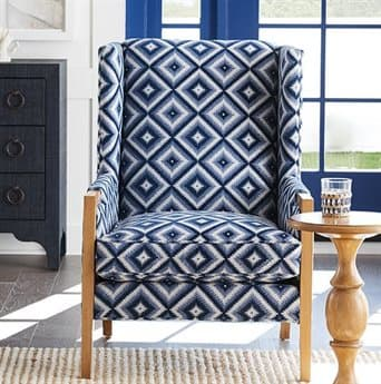 Barclay Butera Stratton Wing 6395-31 Accent Chair (As Shown) BCB55201142