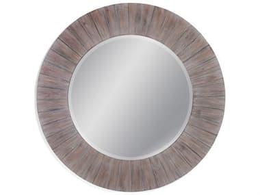 Bassett Mirror Herrick 48'' Wide Round Wall Mirror BAM4275B