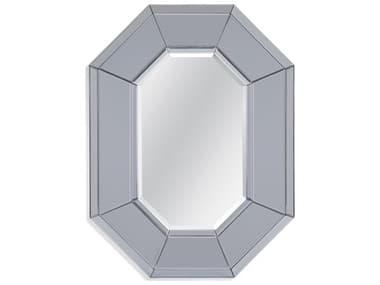 Bassett Mirror Hurley Silver / Grey Glass Wall BAM4330B