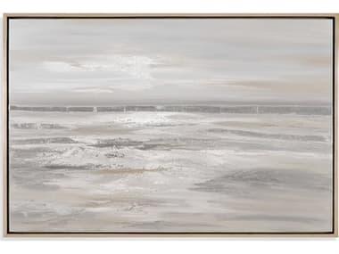 Bassett Mirror Modern Metallics Canvas Wall Art BA7300342EC