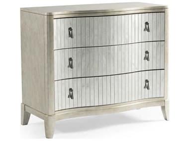 Bassett Mirror Rhodes Silver Leaf / Antique Three-Drawer Single Dresser BA5230LR766