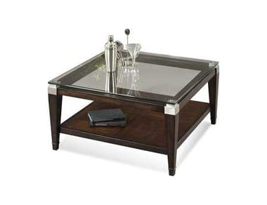Bassett Mirror Thoroughly Modern 36 Square Cappuccino Dunhill Cocktail Table BAT1171130EC