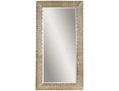 Bassett Mirror Thoroughly Modern 43 x 80 Silver Leaf Sazerac Leaner Mirror BAM3228BEC