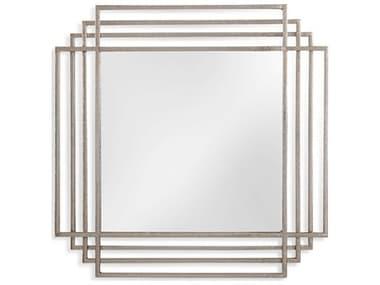 Bassett Mirror Silver Leaf Wall BAM4215