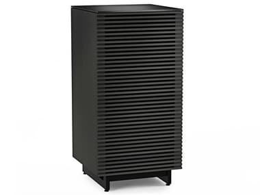BDI Corridor 22''W x 22''D Charcoal Stained Ash Enclosed Audio Tower BDI8172CRL
