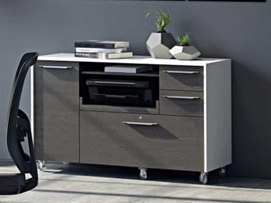 BDI Format Modern 3 Drawers File Cabinet BDI6320SWCRL