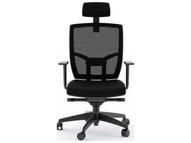 BDI TC-223 Black Fabric Computer Office Chair BDI223DHFB
