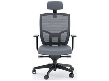 BDI TC-223 Gray Fabric Computer Office Chair BDI223DHFGRY
