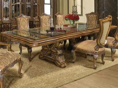 Benetti's Italia Firenza 128''W x 54''D Dining Table with Extension BFFIRENZADININGTABLEWITHEXTENSION
