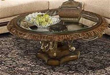Benetti's Italia Furniture Ravenna 48'' Wide Round Cocktail Table BFRAVENNACOCKTAILTABLE