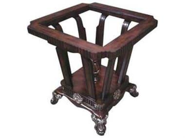 Benetti's Italia Furniture Salermo 28'' Wide Square End Table BFSALERMOENDTABLE