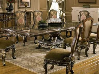 Benetti's Italia Furniture Sicily Dining Table with Extension BFSICILYDININGTABLEWITHEXTENSION