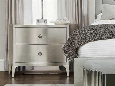 Bernhardt Calista Silver Leaf Two-Drawers Nightstand BH388230