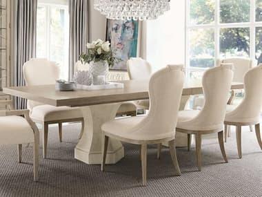 Bernhardt Santa Barbara Sandstone / Textured Cameo 92-132'' Wide Rectangular Dining Table with Extension BHK1111