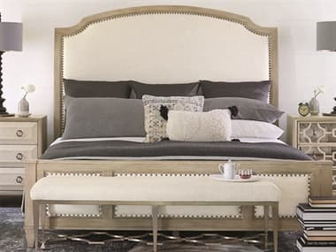 Bernhardt Santa Barbara Sandstone King Sleigh Bed BHK1119