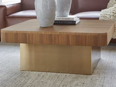Bobby Berk for A.R.T Furniture Walnut 40'' Wide Square Coffee Table BBB2393011826