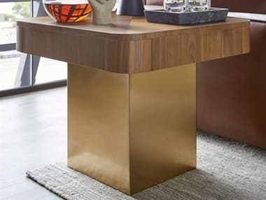 Bobby Berk for A.R.T Furniture Walnut 26'' Wide Square End Table BBB2393041826