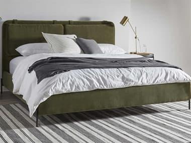 Bobby Berk for A.R.T Furniture Green California King Platform Bed BBB2391275020