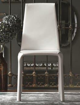 Bontempi Alice White Side Dining Chair BON4017Q429