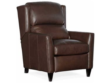 Bradington Young Samuel Brown / Mahogany 3-Way Pushback Recliner Chair with Articulating Headrest BRDBYX410398520088MH