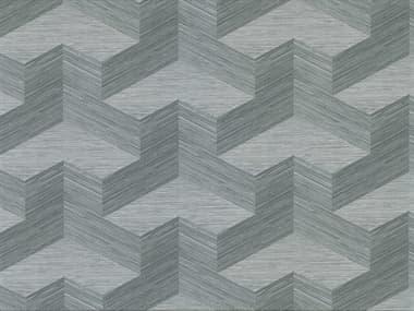 Brewster Home Fashions A-street Prints Y Knot Slate Geometric Texture Wallpaper BHF282982064
