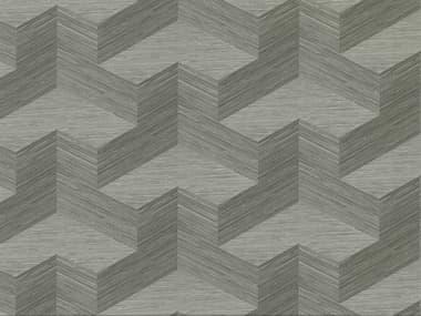 Brewster Home Fashions A-street Prints Y Knot Grey Geometric Texture Wallpaper BHF282982067